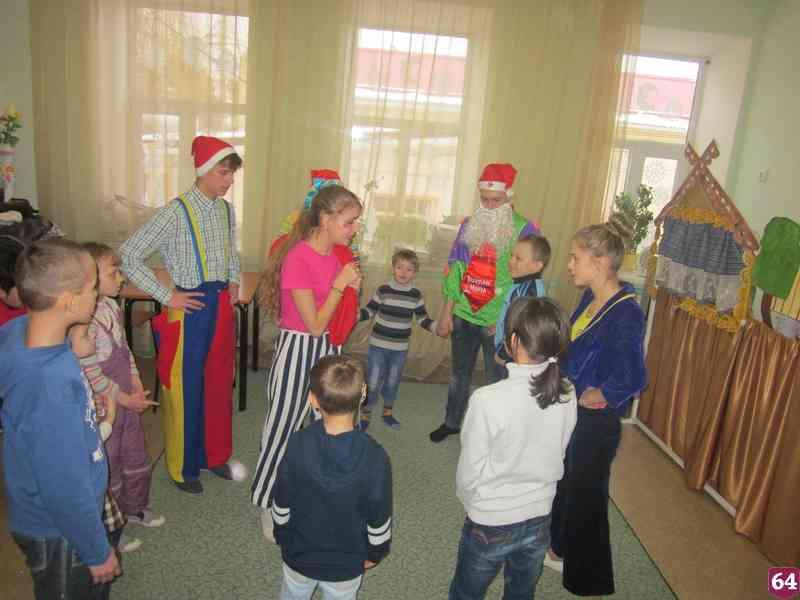Сценарий на праздник детям инвалидам