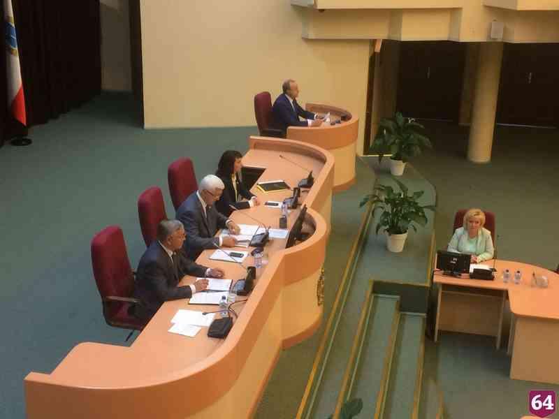 Депутаты назначили день выборов саратовского губернатора