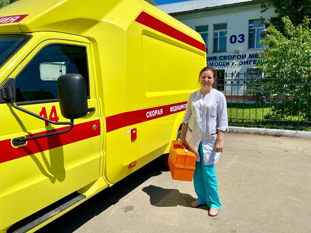 Фельдшера скорой помощи из Энгельса поблагодарил Президент России