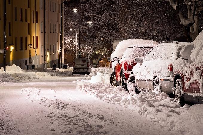 МЧС предупреждает саратовцев о продолжении снегопада