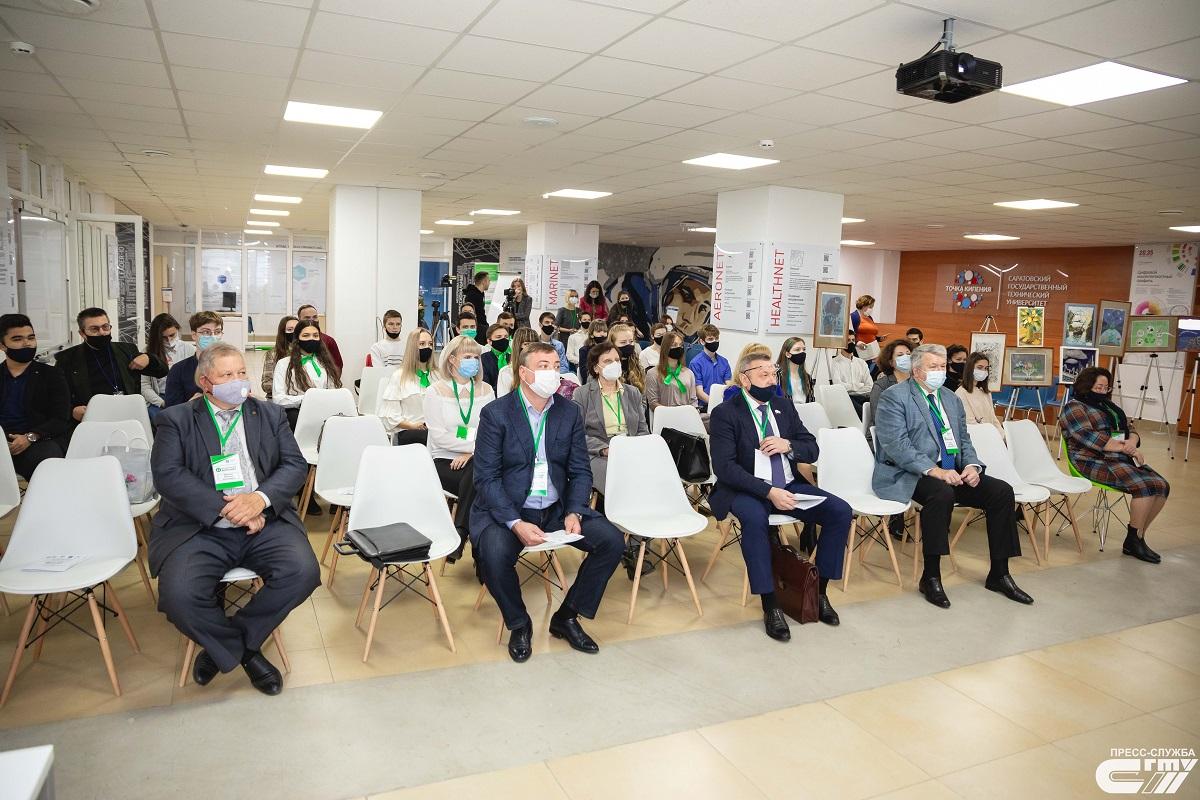 В Саратове обсуждают экологическое благополучие России