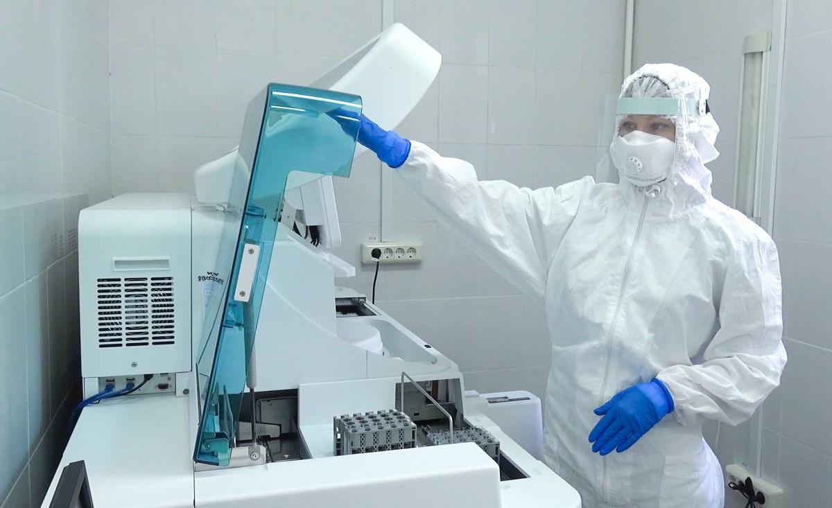 Радаев поставил задачу отладить процесс тестирования на COVID-19