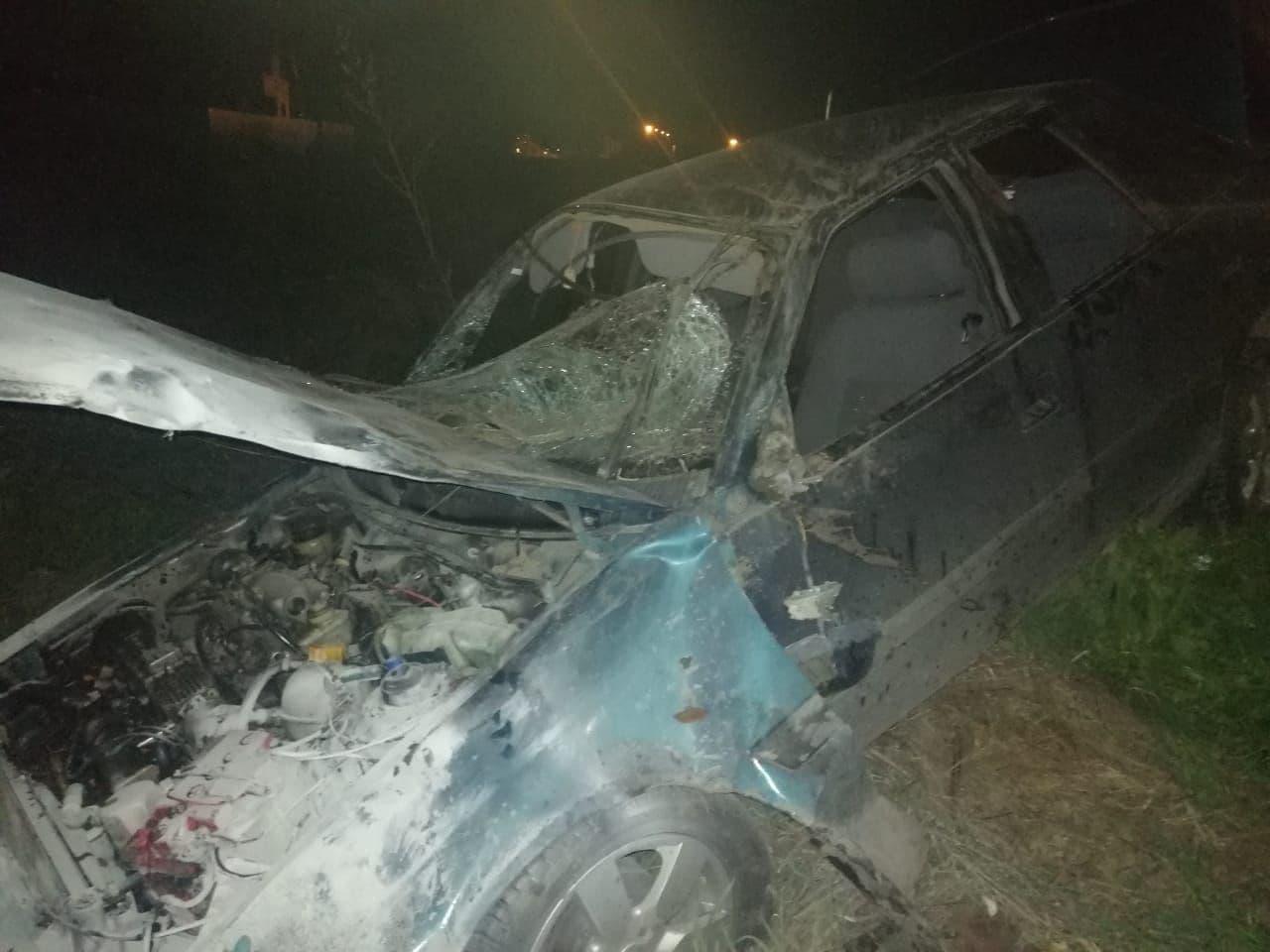 На саратовской трассе погиб водитель иномарки