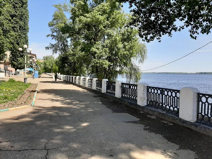 В городе Вольске благоустроят набережную с пляжем