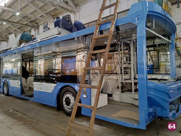 Губернатор обещал купить для Саратовской области троллейбусы «Адмирал»