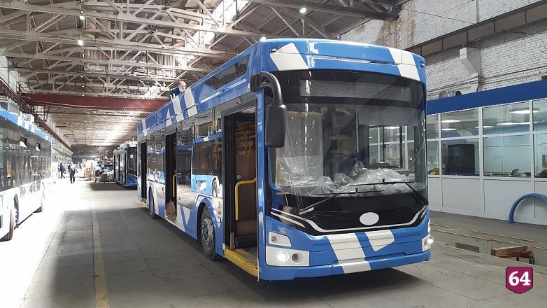 Первая партия троллейбусов «Адмирал» отправилась в Санкт-Петербург